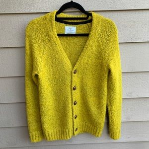 Your Neighbors Shaggy Cardigan Size XS